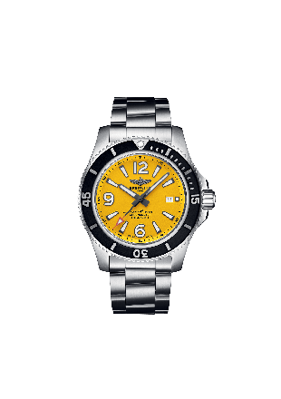 Superocean Automatic 44 Stainless Steel - Yellow