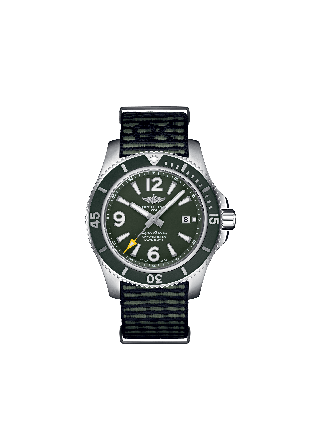 Superocean Automatic 44 Outerknown Stainless Steel - Green