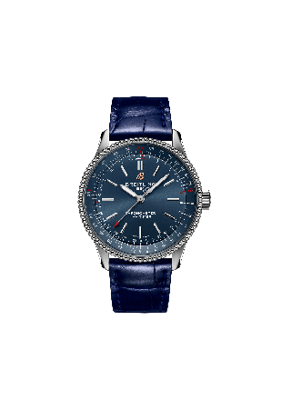 NAVITIMER AUTOMATIC 35Stainless Steel - Blue