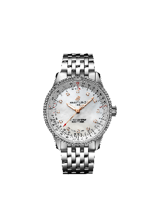 NAVITIMER AUTOMATIC 35Stainless Steel - Mother-Of-Pearl